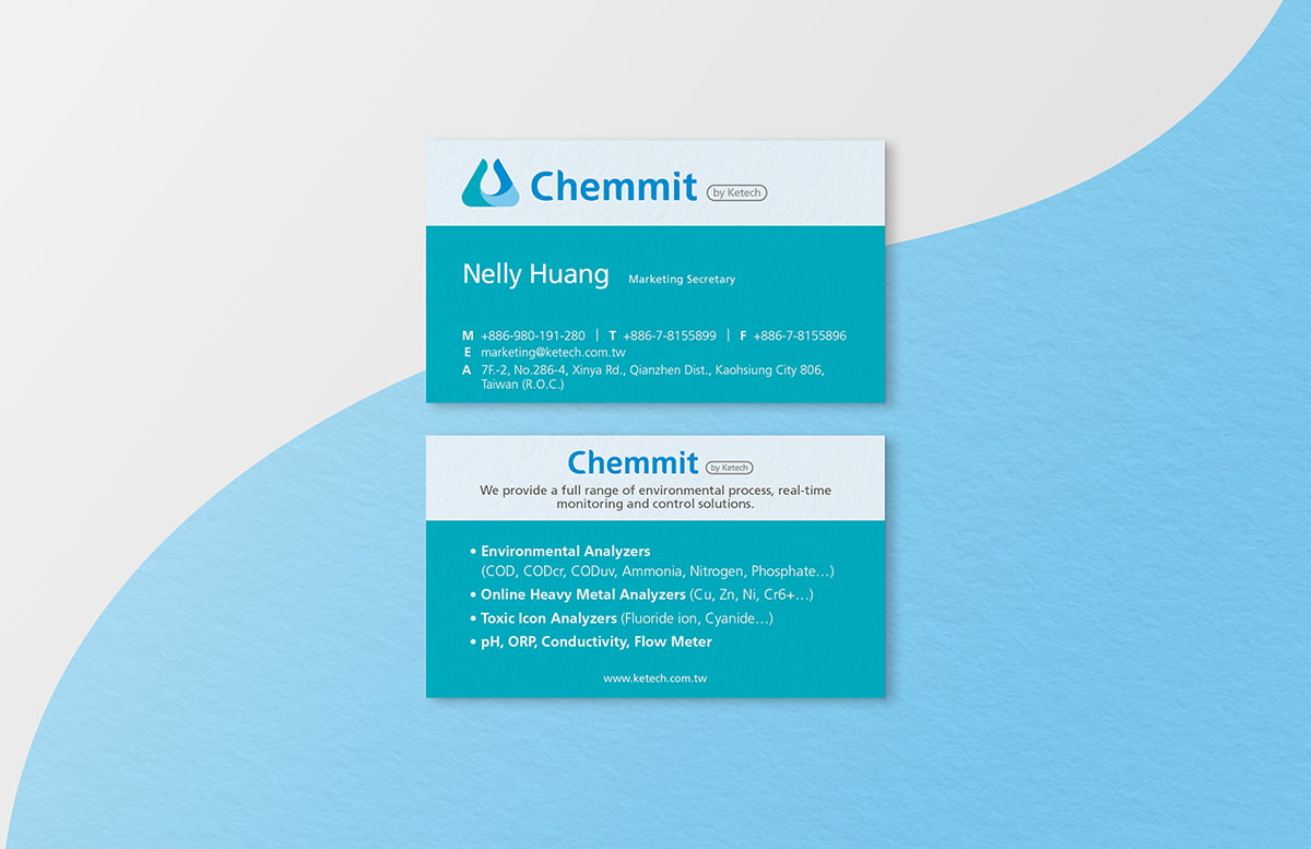Chemmit | Business card